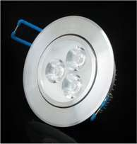 3w LED Downlight and Ceiling fitting