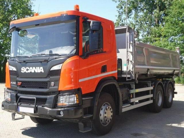 Scania P410 6x4 EURO6 DSK mit Bordmatik DEMO TOP! - 2019