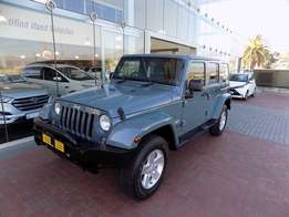 2014 Jeep Wrangler Unlimited 3.6L Sahara