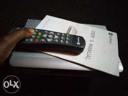 Star times decoder with remote