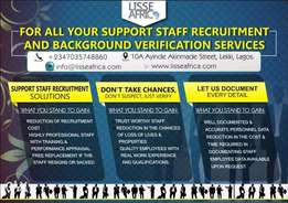 Support Staff Recruitment And Outsourcing
