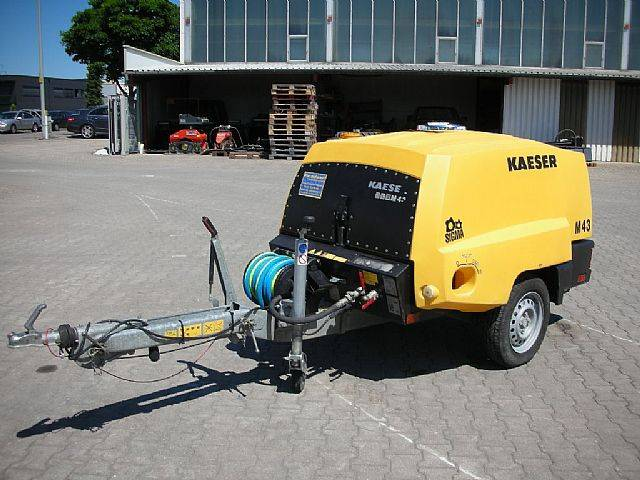 Kaeser M43 Baukompressor - 2013