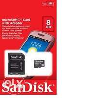 MicroSDHC Memory Card - 2, 4, 8, 16 and 64GB