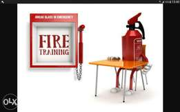 Sales and service of fire fighting equipment