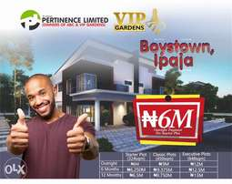 IPAJA BOYZ TOWN: Cheap and genuine plots of land for sale