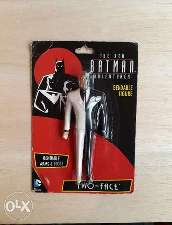 Two-Face Bendable Figure.