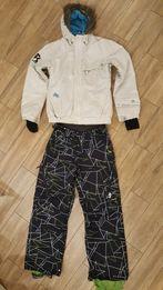 fcf37070ae59e9 komplet spodnie + kurtka snowboardowe narciarskie house
