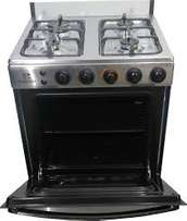 Latest made VALCANO 4 BURNER SILVER GAS Cooker plus watch