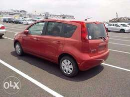Nissan Note 'Wine Red' 1500cc: Price 650k
