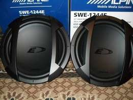 Alpine SWE 1244E Type E 12 inch High Performance Subwoofer