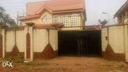 Well located 4bedroom duplex at Upper north in Enugu.