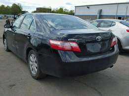 just arrived accident free toks toyota camry 2008 model XLE 4 PLUGS