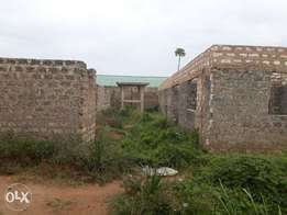 4 units of 2 Bedrooms self contained (unfinished) - Likoni