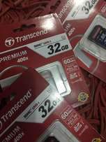 Original Transcend SD Cards