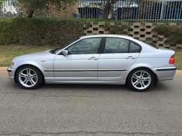 BMW 330i Auto 2002 Silver, Very Very Low km, Genuine 87000km