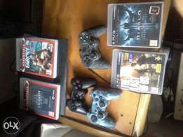 Urgent sale - Ps3 ultra slim 500 gig 3 remotes and 18 games