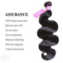 Peruvian Hair Extensions Original Queen Real Virgin 12 14 16 inches