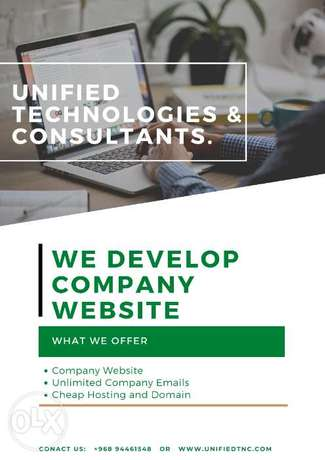 We do Websites and Applications