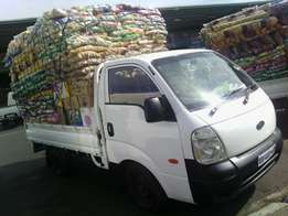 A good condition bakkie for hire short and long distances
