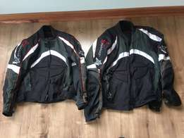 Two Assult adventure bike jackets for sale!