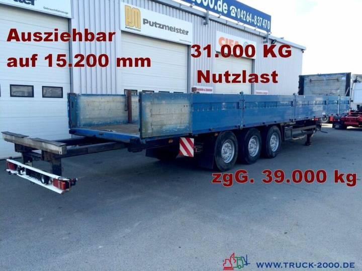 Koegel SN24 Spezial Verlängerbar auf 15,20m NL 31.000kg - 2003