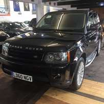 landrover range rover sport 3l v6 2010 new model, finance offered