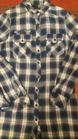 8ebe3fb302ac3 Mango koszula flanela krata xs MNG damska Nowa kieszenie długa - Warszawa -  Mango casual sportwear