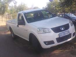 2012 GWM Steed5 2.2 litres single Cab bakkie for sale