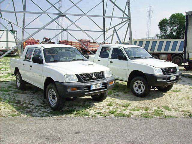 Mitsubishi L200 N.2 Pick-up 2.5 TDI 4WD Double Cab GL - 2003