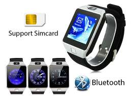 Silver Smart Cell Phone Watch with SIM Slot,Whatsapp,Facebook,Camera