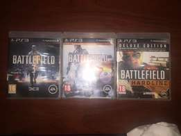 ps3 Battlefield games