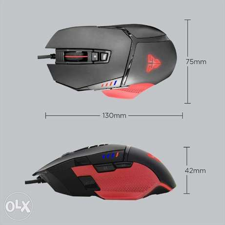 Fantech X11 DAREDEVIL Gaming Mouse دكوانة -  5