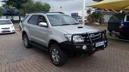 2007 Toyota Fortuner 3.0d4d 4x4 manual R169 900