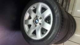 Bmw Mags and tyres