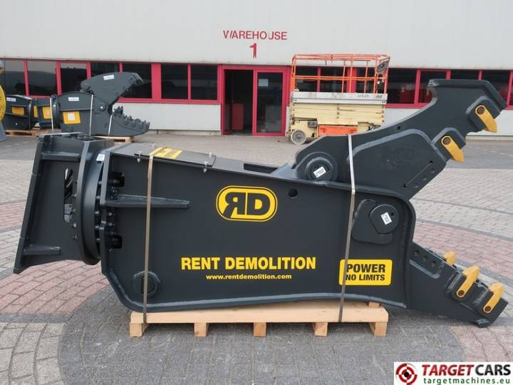 Rent Demolition  CK20 Hydr.Rot Crusher Pulveriser Shear f...