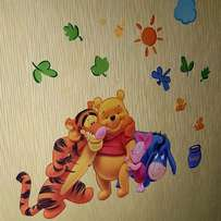 Kids Rooms stickers with story lines, available.