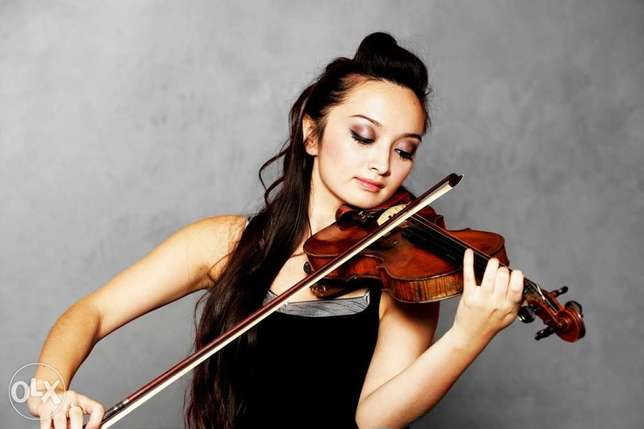private violin sessions at your home