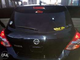 Nissan Tiida with Pioneer System & Sub-woofer