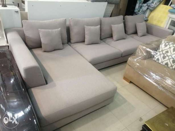 L shape sofa almost new free delivery contact WhatsApp