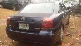 toyota avensis used 2005 bought brand new