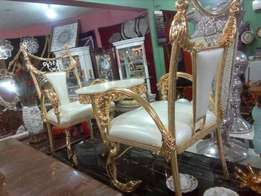 Royal Console Set Gold color