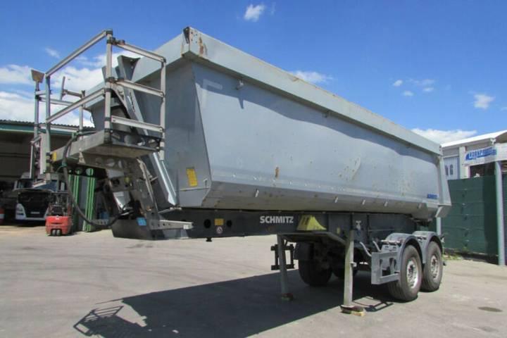 Schmitz Cargobull SKI 18 SL-7.2 SR - Kippmulde 27 m³ - Nr.: 012 - 2014
