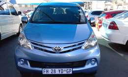 Toyota Avanza 2014 1.5 SX Model 2014 5Door Colour Blue Factory A/C&CD