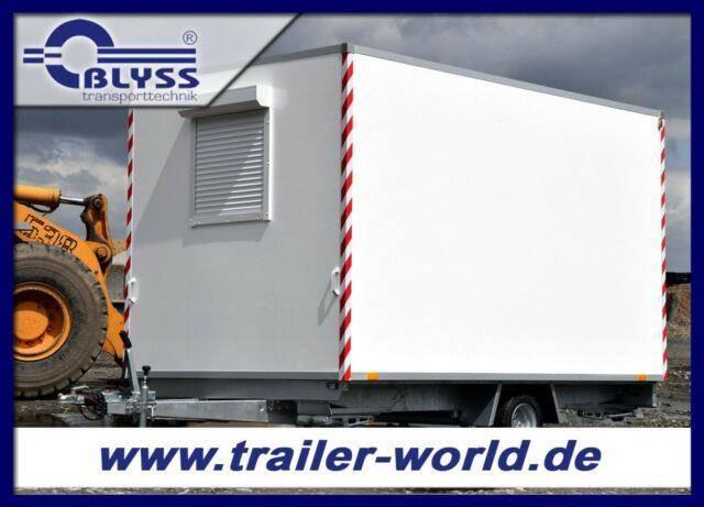 Blyss Bauwagen 360x210x210cm Anhänger 1100kg GG