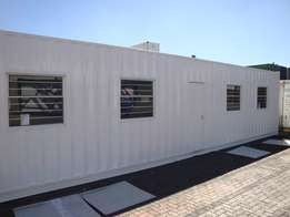 12m (40Foot) office site containers