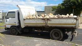 Rubble removal and truck hire