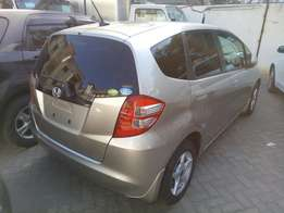 Honda fit with alloy rims