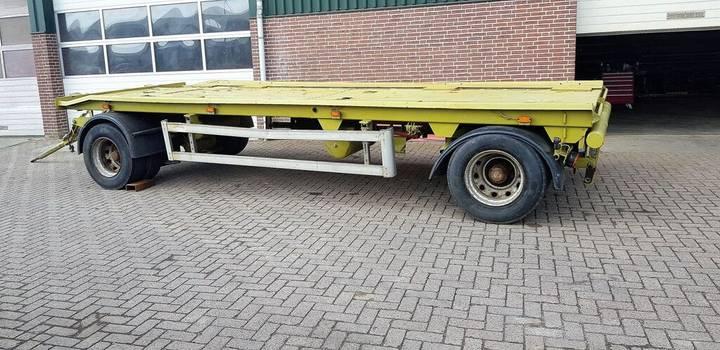 Trailer transportwagen platform