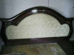 Double Bed head board / Two chairs Available