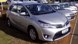 Toyota Verso 1.6S, Manual, Silver, Only 59 900kms on the clock!